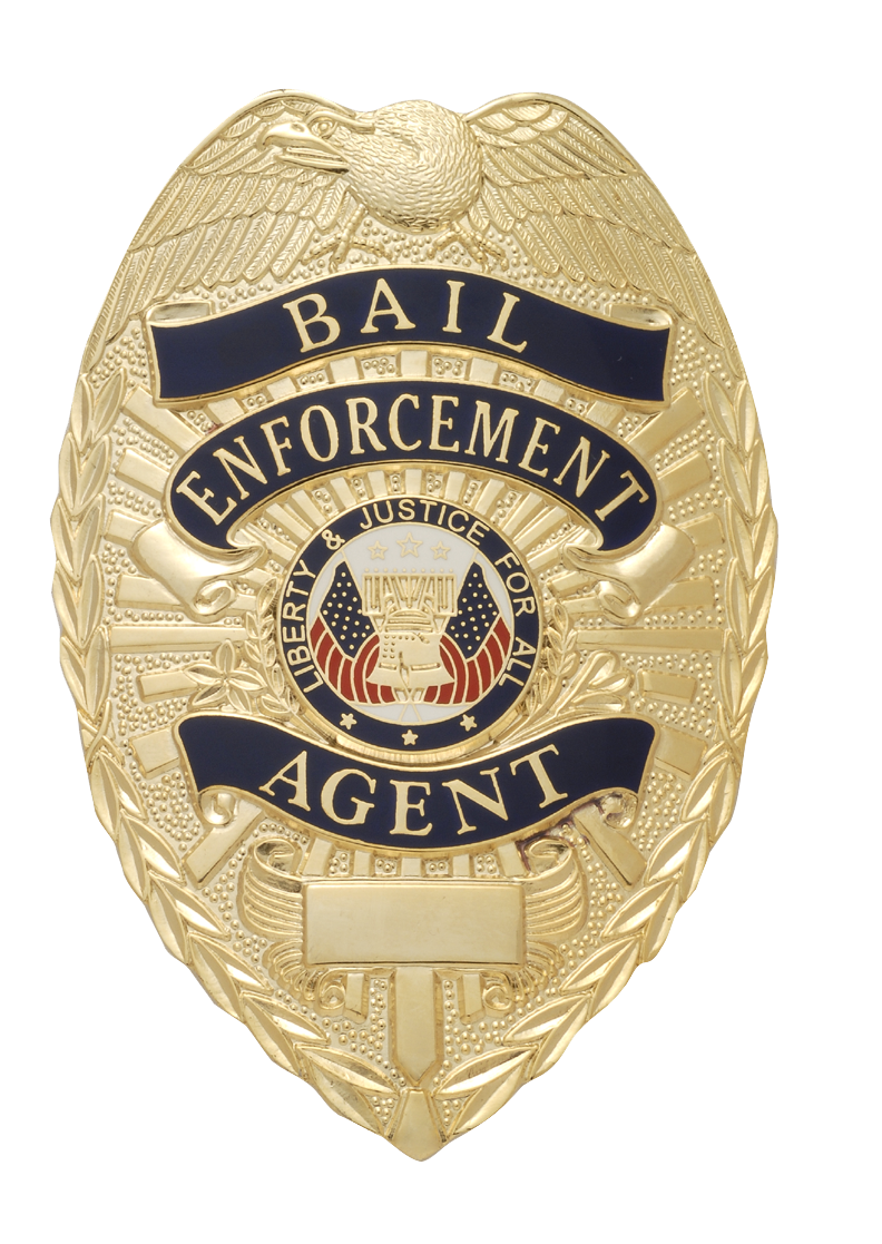 W95 Bail Enforcement Agent Badge