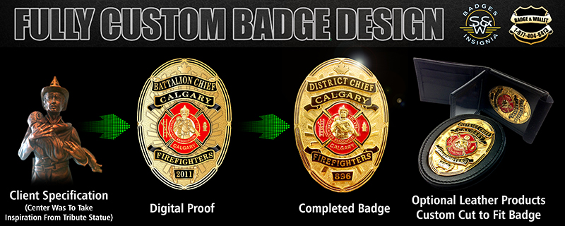 Fully Custom Badge Design Example