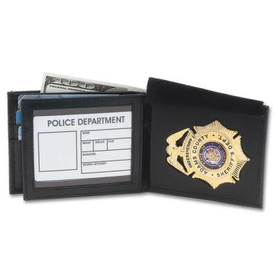 DK-66 Compact Badge & ID Wallet Shown Open.