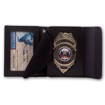 Recessed Badge and ID Cases w/ Velcro Closures