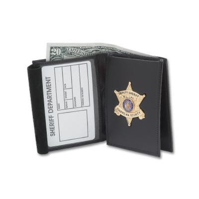Flip-out Recessed Badge Wallet Model DK-25