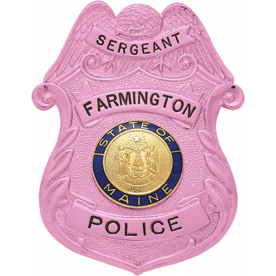 Breast Cancer Awareness Badge Model S150