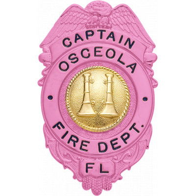 Osceola Fire Department Captain Florida Breast Cancer Awareness S528