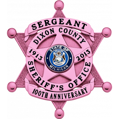 Breast Cancer Awareness Badge Model S626