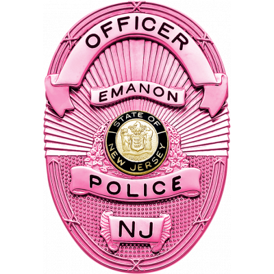 S665A Breast Cancer Awareness Badge