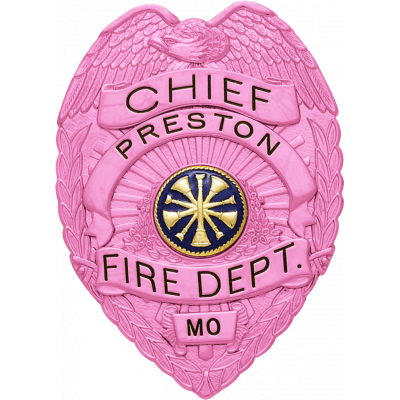 Smith & Warren Breast Cancer Awareness Pink Badge Style S91B