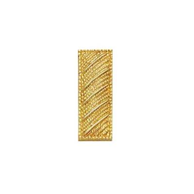 C546 Small Textured Lieutenant Bar Collar Insignia