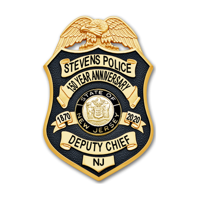 Stevens Institute of Technology Anniversary Badge - Deputy Chief