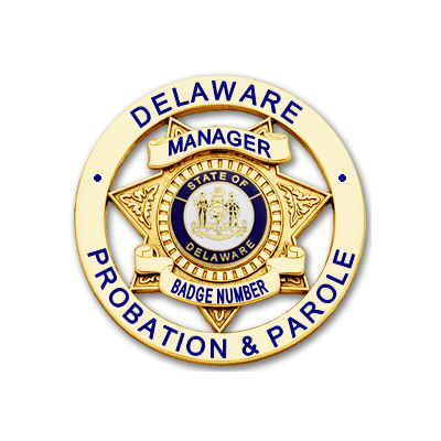 Manager Badge with Multicolor Seal