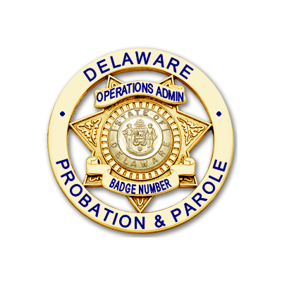 Operations Admin Badge with Plain Seal