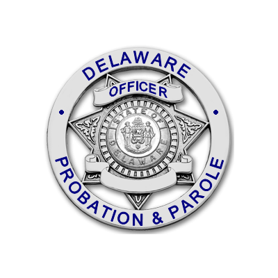 Delaware Probation & Parole Officer Badge