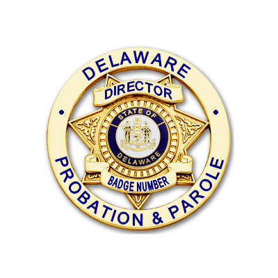 Director Badge with Multicolor Seal