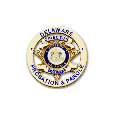 Delaware Probation & Parole Director Badge