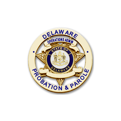 Delaware Probation & Parole Operations Admin Badge