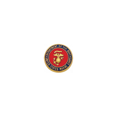 "Smith & Warren Marine Corps Lapel Pin 15/16"" Model C596M"
