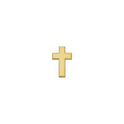 C153P Chaplain Cross in Gold