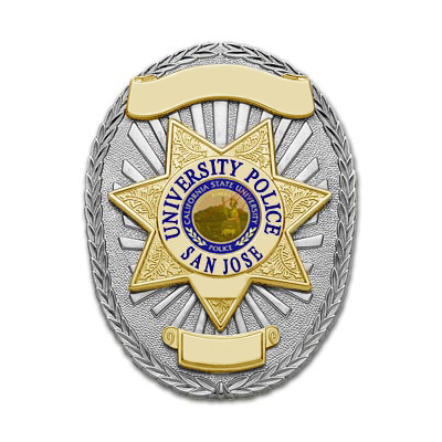San Jose University Police Non-Sworn Officers Oval Badge