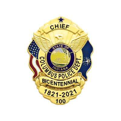 Columbus PD Bicentennial - CHIEF