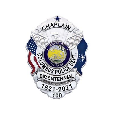 Columbus Police Department Bicentennial - Chaplain