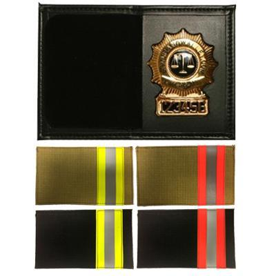 Product Image 1 for custom badge wallet product Bunker Dress Leather Recessed Badge & ID Case