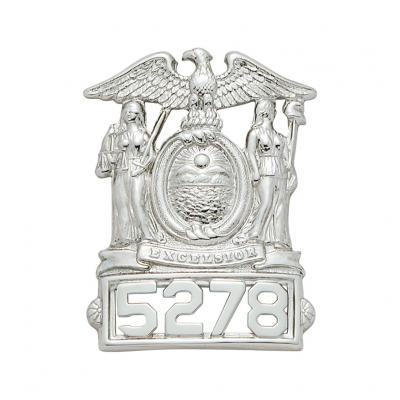 New York State Hat Badge Model S101