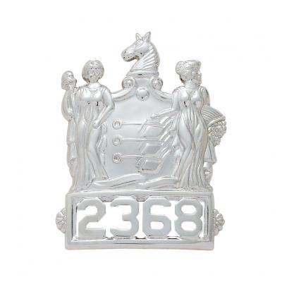 S103 New Jersey Specific Hat Badge