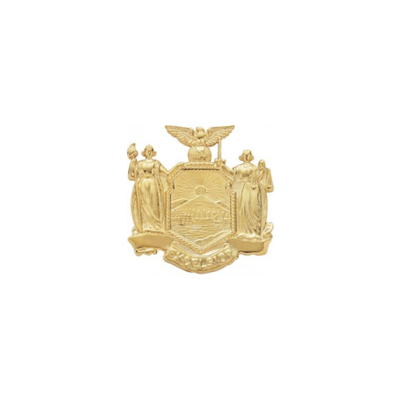 New York State Crest Hat Badge Model SW-S131