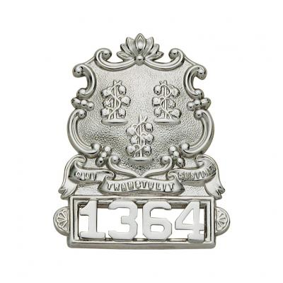CT State Crest Hat Badge Model SW-S40