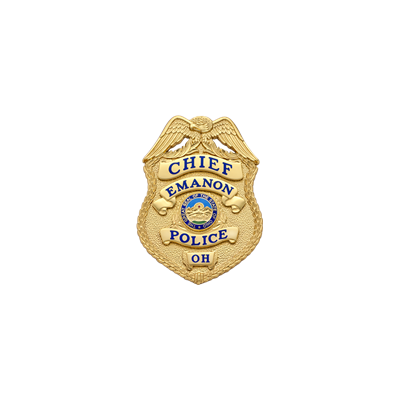 Emanon Police Badge by Smith & Warren style S657
