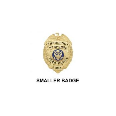 Emergency Response Task Force Badge Model S201