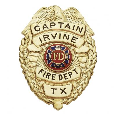 Irvine Fire Department Captain Texas