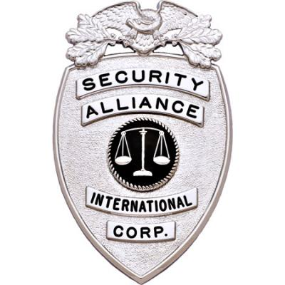 Security Alliance International Badge Model S114