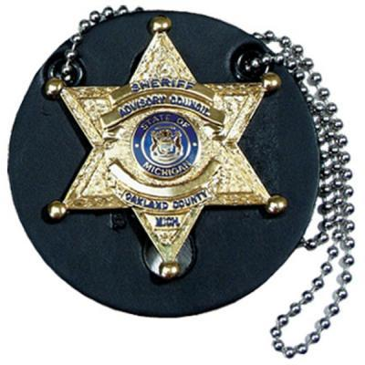 Round Shape Neck Badge Holder