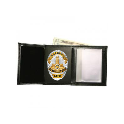 Hidden Agenda Badge Wallet fits LAPD badge wallet.