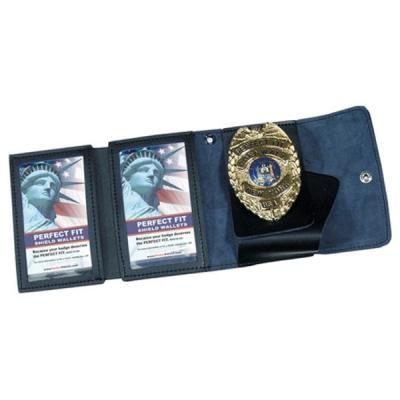 PF-401-A-S non-recessed badge & double ID case.