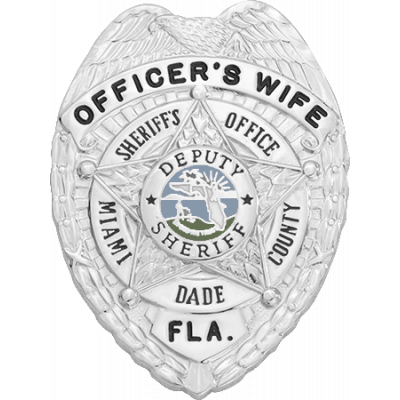 Miami Dade Sheriff's Office Christmas Ornament