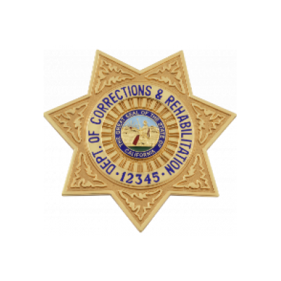 California Dept. of Corrections Badge