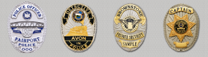 image of a collection of badges