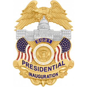 2021 Presidential Inauguration Collectible badge by Smith & Warren